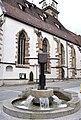 Bad Cannstatt Marktstraße Brunnen mit Weinpresse.jpg