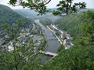 Bad Ems - Bad Ems from the Concordia heights