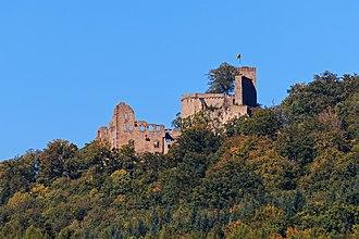 House of Zähringen - Ruins of Hohenbaden Castle in Baden-Baden