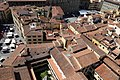 Badia fiorentina, campanile, veduta da, chiostri della badia 01.jpg