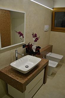 Pavimento in resina wikipedia - Resina piastrelle bagno ...