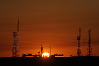 Spaceport - The Baikonur Cosmodrome (Gagarin's Start launch pad)