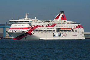 Baltic Princess i Tallinkskrud