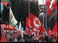 Bandiere della Federazione alla manifestazione Fiom.png