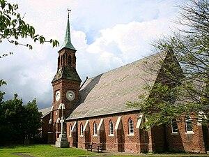 Banks, Lancashire - Image: Banks St. Stephens Church