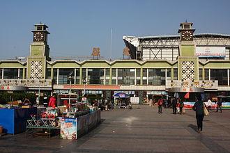 Baoding railway station - Old Baoding railway station