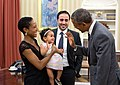 Barack Obama with Maher Bitar's family.jpg
