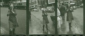 Barbara Rubin - Barbara Rubin, London, May 1965, by Allen Ginsberg (copyright Peter Hale)