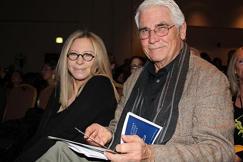 With James Brolin (2013) Barbra Streisand and James Brolin.jpg