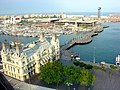 Barcelona, la aduana antigua, el puerto y Maremagnum - panoramio.jpg