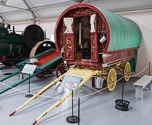 Irish Agricultural Museum - Image: Barrel top caravan