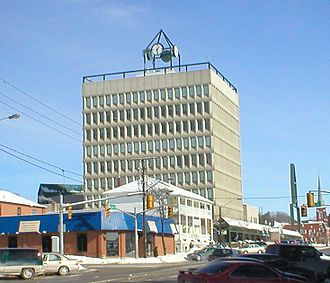 Barrie - The city hall of Barrie