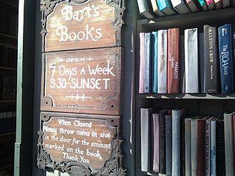 Ojai, California - Bart's bookstore, Ojai