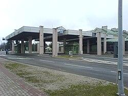 Barwinek - already non-existent Polish-Slovak border crossing with European routes E37.JPG