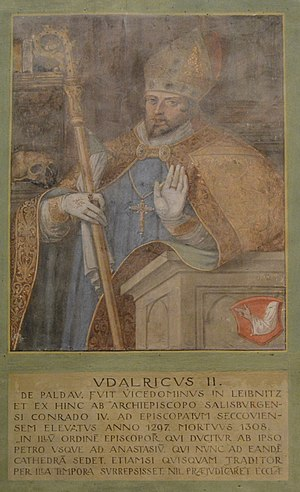 Basilika Seckau, Bischofskapelle, Halbfigurenportrait Bischof Ulrich II. von Paldau.jpg