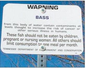 Big Sandy River (Tennessee) - TWRA Contaminant Advisory
