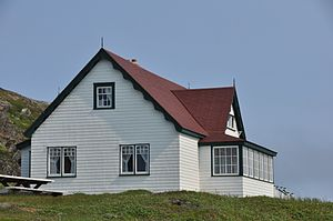 Battle Harbour - The cottage of Wilfred Grenfell at Battle Harbour