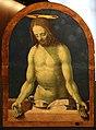 Beccafumi, testate di cataletto, 1511-12 (siena, pinacoteca), cristo in pietà.jpg