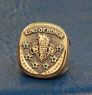 Becky Hammon - Replica of the Ring of honor awarded to Becky Hammon at her induction ceremony