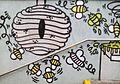 Bees graffiti Poznan Leonarda.jpg