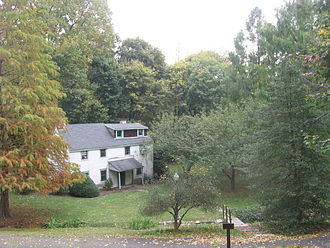 """Belfield (Philadelphia) - The Tenant House, also known as the """"Japanese Tea Ceremony House"""""""