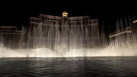 File:Bellagio casino fountain feature (medium quality).ogv