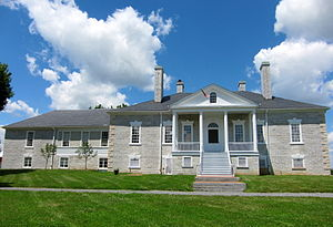 Cedar Creek and Belle Grove National Historical Park - The Belle Grove manor house