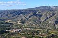 Benialí i la serra de l'Almirall, la Vall de Gallinera.JPG