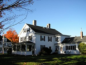 National Register of Historic Places listings in Uxbridge, Massachusetts - Image: Benjamin Adams House Fall 2007