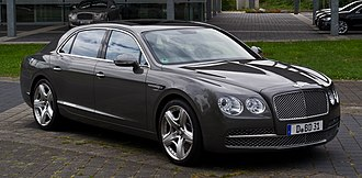 F-segment - Image: Bentley Flying Spur – Frontansicht (2), 12. August 2013, Düsseldorf