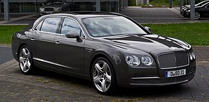 Flying spur bentley