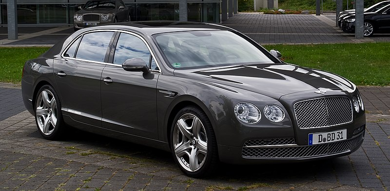 Bentley silver spur