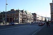 Die Innenstadt Bergens mit der ehemaligen B�rse