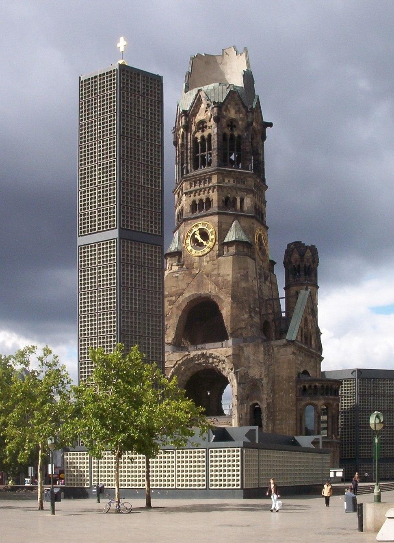 Berlin Eiermann Memorial Church