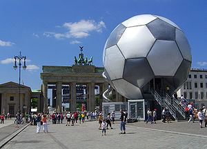 Football in Berlin - Fan Fest 2006.