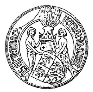 Bernard VII, Count of Armagnac - Seal of Bernard VII