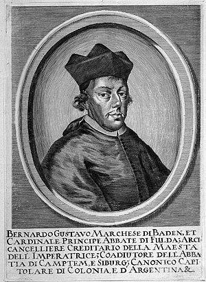 Bernhard Gustav of Baden-Durlach - Bernhard Gustav of Baden-Durlach