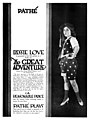 Bessie Love in an advertisement for The Great Adventure (1918).jpg
