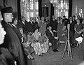 Bezoek Franse president en mevrouw Coty aan Amsterdam, bezoek Instituut Francais, Bestanddeelnr 906-6097.jpg