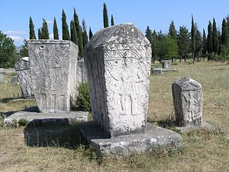 Bosniaks - Medieval monumental tombstones (Stećci) that lie scattered across Bosnia and Herzegovina are historically associated with the Bosnian Church movement