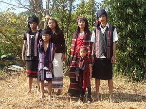 Biate - Traditional dress
