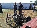 Bicycle cultivator from tim at green tractor farm, farmhack (15136163107).jpg