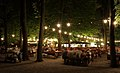 Biergarten at Night.JPG