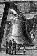 Big Ben in 1858