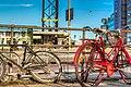 Bikes in Slussen, Stockholm - panoramio.jpg