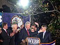 Bill Clinton at Webb Rally (291040553).jpg