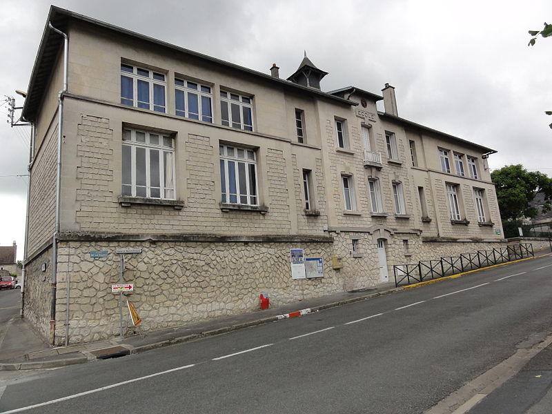 Billy-sur-Aisne (Aisne) école Pasteur