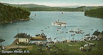 Sunapee, New Hampshire - Sunapee Harbor c. 1905