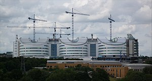 Queen Elizabeth Hospital Birmingham - New hospital whilst under construction