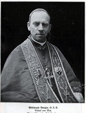 Willibrord Benzler - Willibrord Benzler, 1913